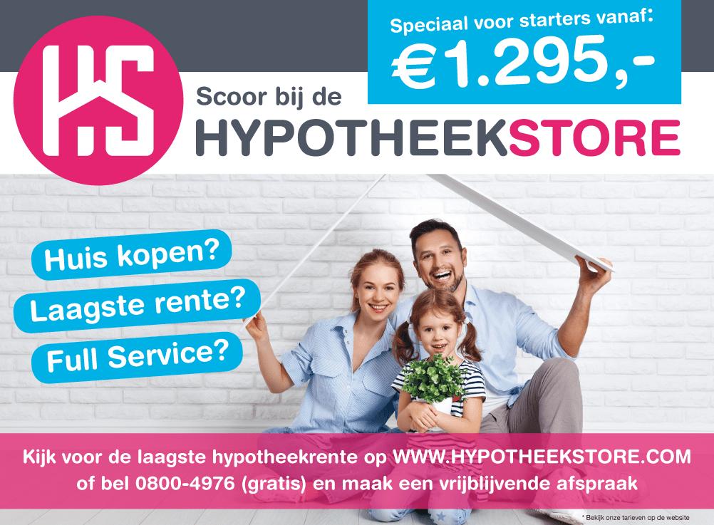 HaagMedia Advertentie - HypotheekStore - De HypotheekStore